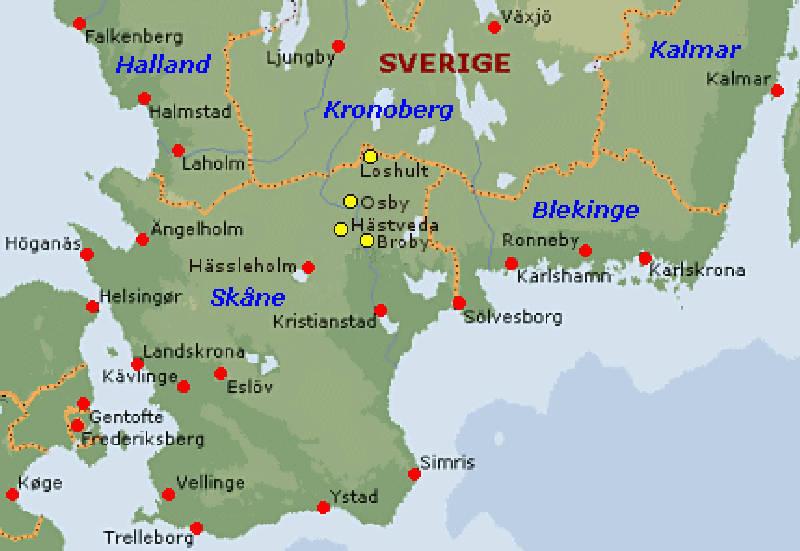 Karta Skane Och Danmark.Snapphanar Och Friskyttar Historiesajten Se