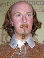 William Shakespeare - vaxdocka p� Madame Tussauds i London