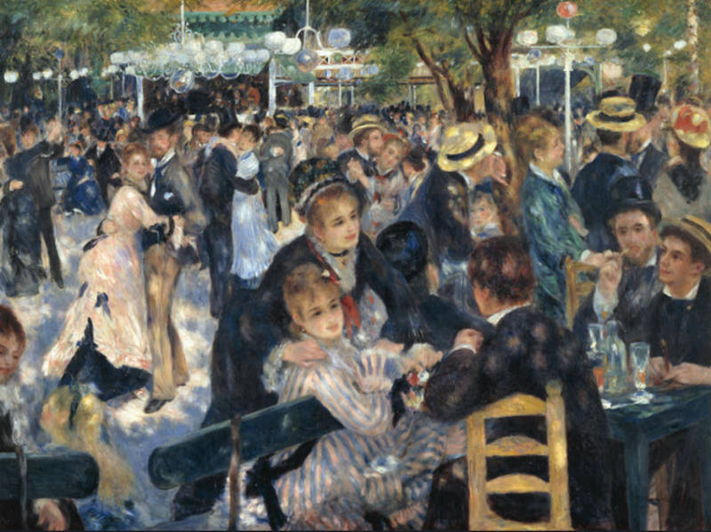 Luncheon of the Boating Party � m�lad av Renoir 1881