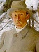 <b>Bruno Liljefors</b> - målad av Anders Zorn - 448