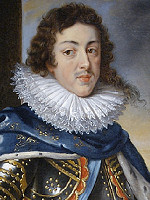Louis XIII - m�lad av Peter Paul Rubens